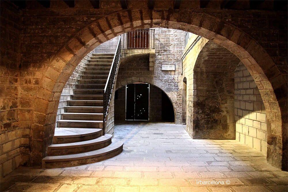 mittelalterlichen Palast