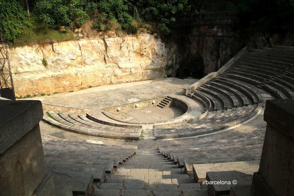 Teatre Grec (griechischen Theater)