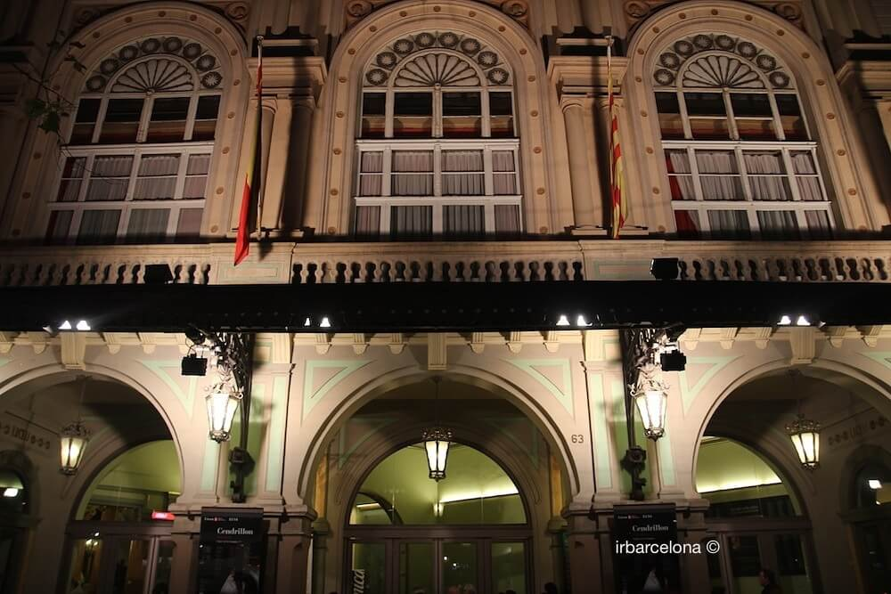 Fassade Gran Teatre Liceu