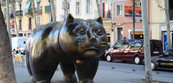 Gato (Katze) Botero