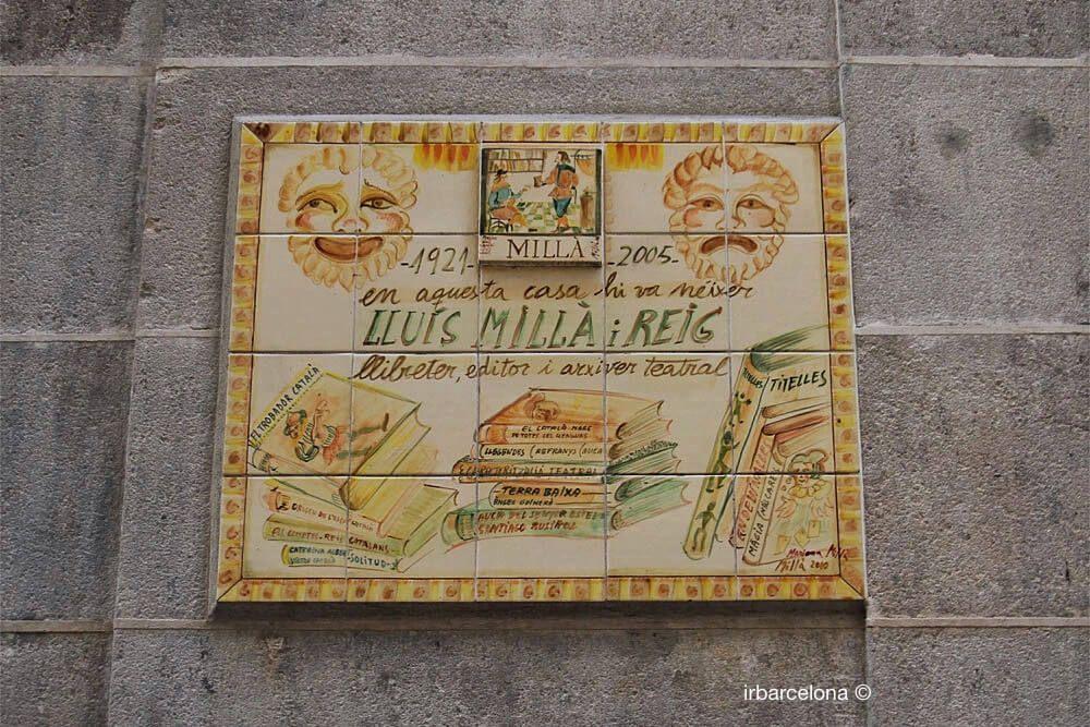 Ehrenplakette Lluís Millà i Reig