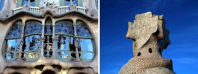 Casa Batlló und Casa Milà