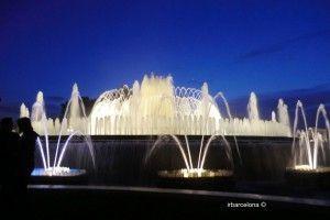 Magische Springbrunnen Barcelona