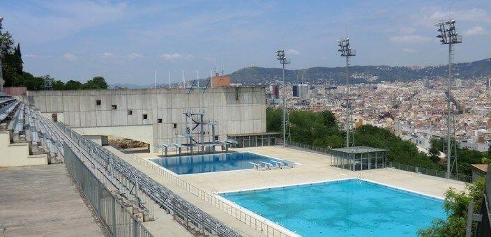 Piscines (Schwimmbäder) Picornell