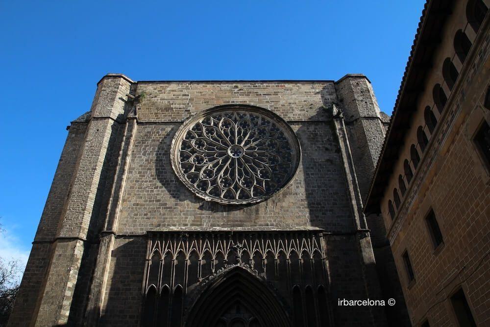 Fassade Santa Maria del Pi