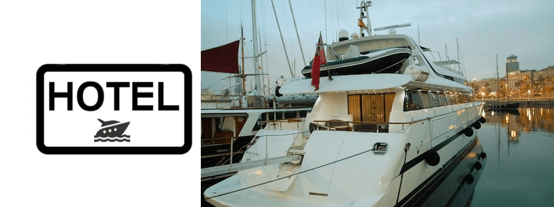 Hotelboot Barcelona