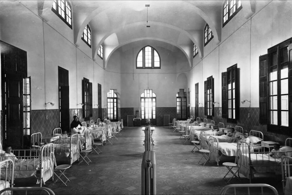 Innere Pavillon Sant Pau