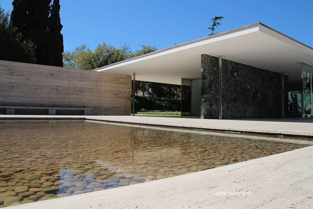 Pavillon Mies Van der Rohe