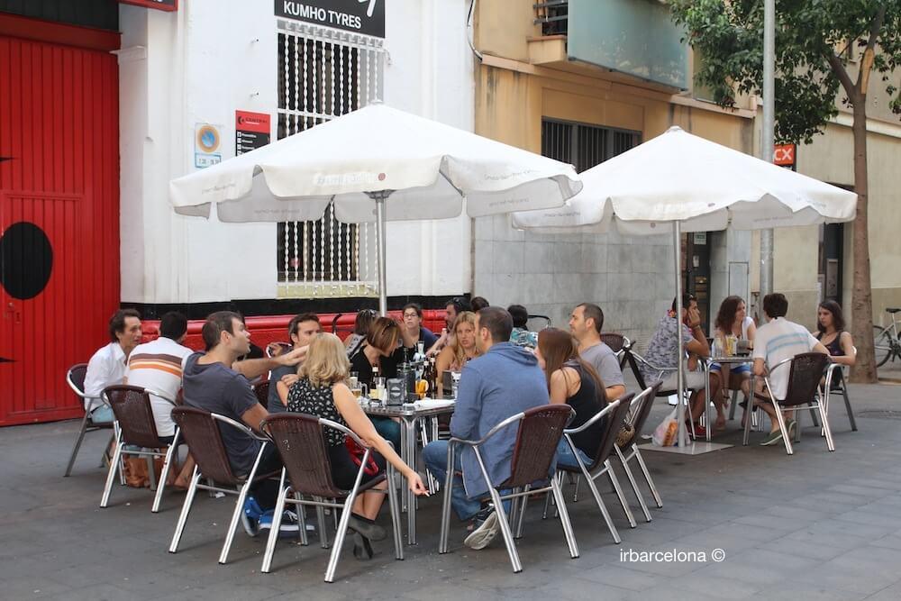 Terrasse Bar Carrer Blai
