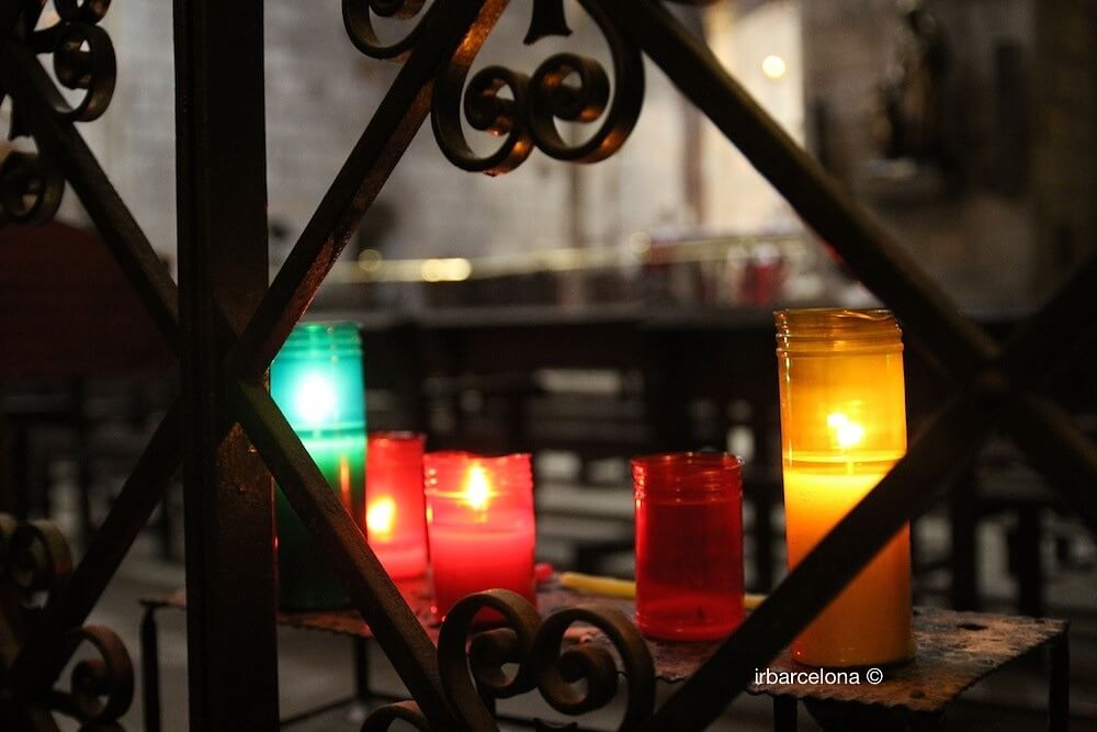 Kerzen Kirche Santa Anna