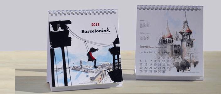 Verlosung des Neuen Kalenders von Barcelonink 2015