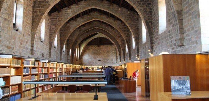 Biblioteca (Bibliothek) de Catalunya