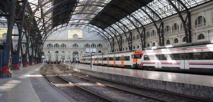 Bahnhof Barcelona-França