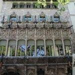 Fassade Palau Baró de Quadras