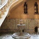 Brunnen Palau Baró de Quadras