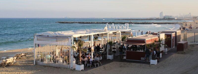 Strandbars (Chiringuitos) von Barcelona
