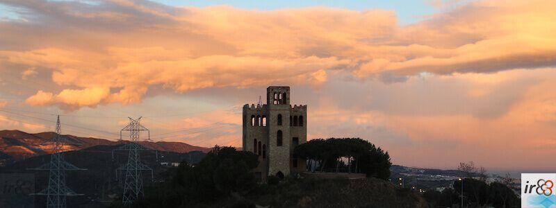 Sonnenuntergang Torre del Baró