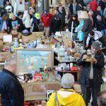 Aktivität auf dem Markt Encants - Fira Bellcaire