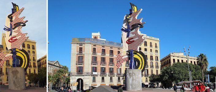 Cara de Barcelona - Barcelona's Head
