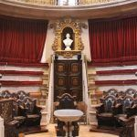 Das Anatomisches Amphitheater von Barcelona