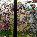 großen Fenster Die drei Grazien