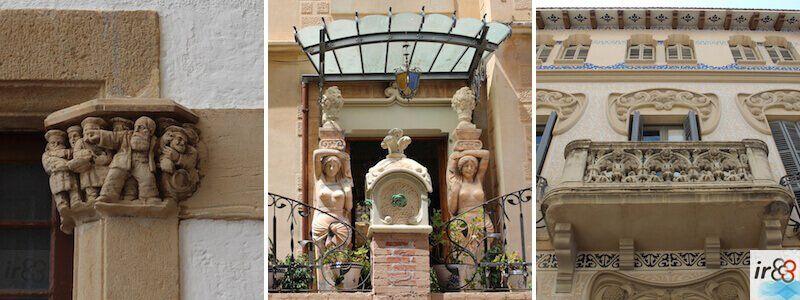 Architektur von Sitges