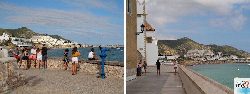 Aussichtspunkte Promenade Sitges