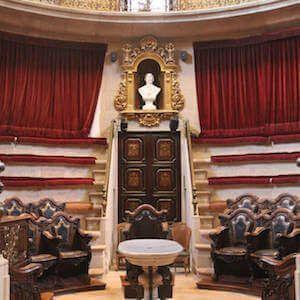 Eintrittskarten Anatomisches Theater aus dem 18. Jahrhundert