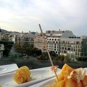 Dachterrassen in Barcelona