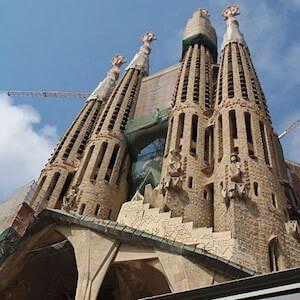 Eintrittskarten für die Sagrada Familia