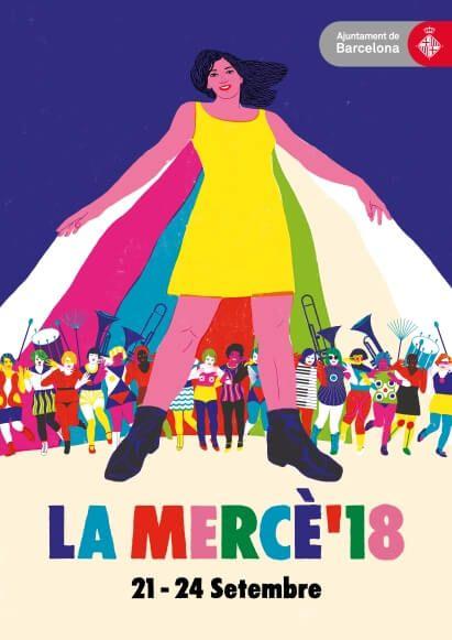 Plakat der La Mercè 2018
