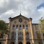 Fassade Historische Gebäude der Universität von Barcelona