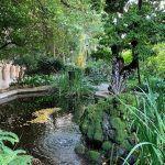 Garten Historische Gebäude der Universität von Barcelona