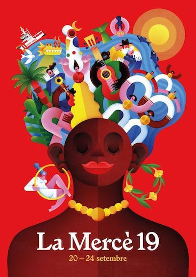 Plakat der La Mercè 2019